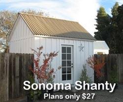 Sonoma Shanty Plans